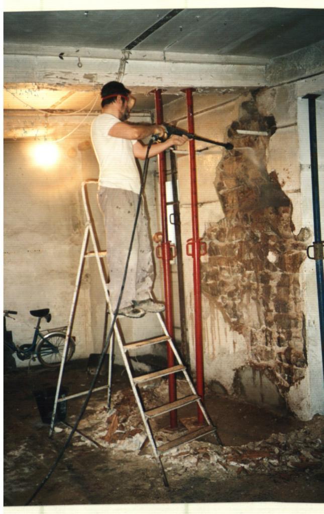 63m² Réparation murs