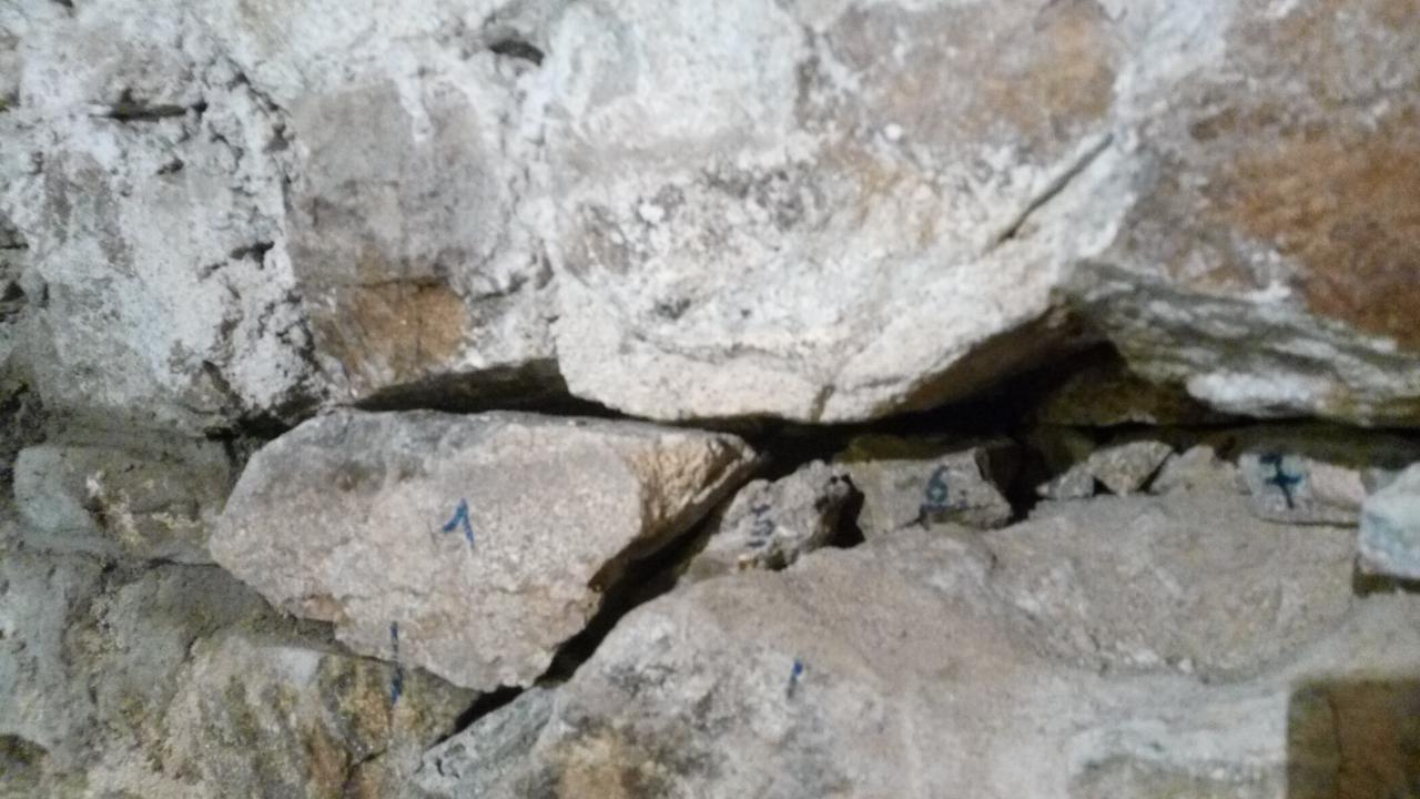 Préparation pierres de remplacement