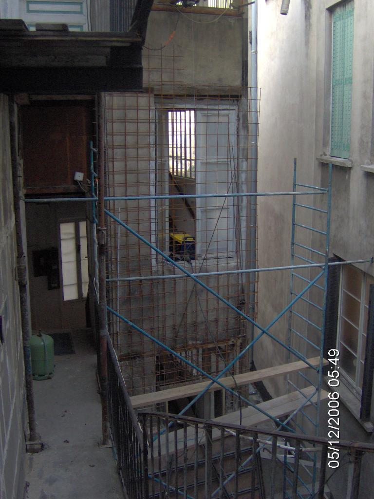X08204 Ferraillage contrefort balcons