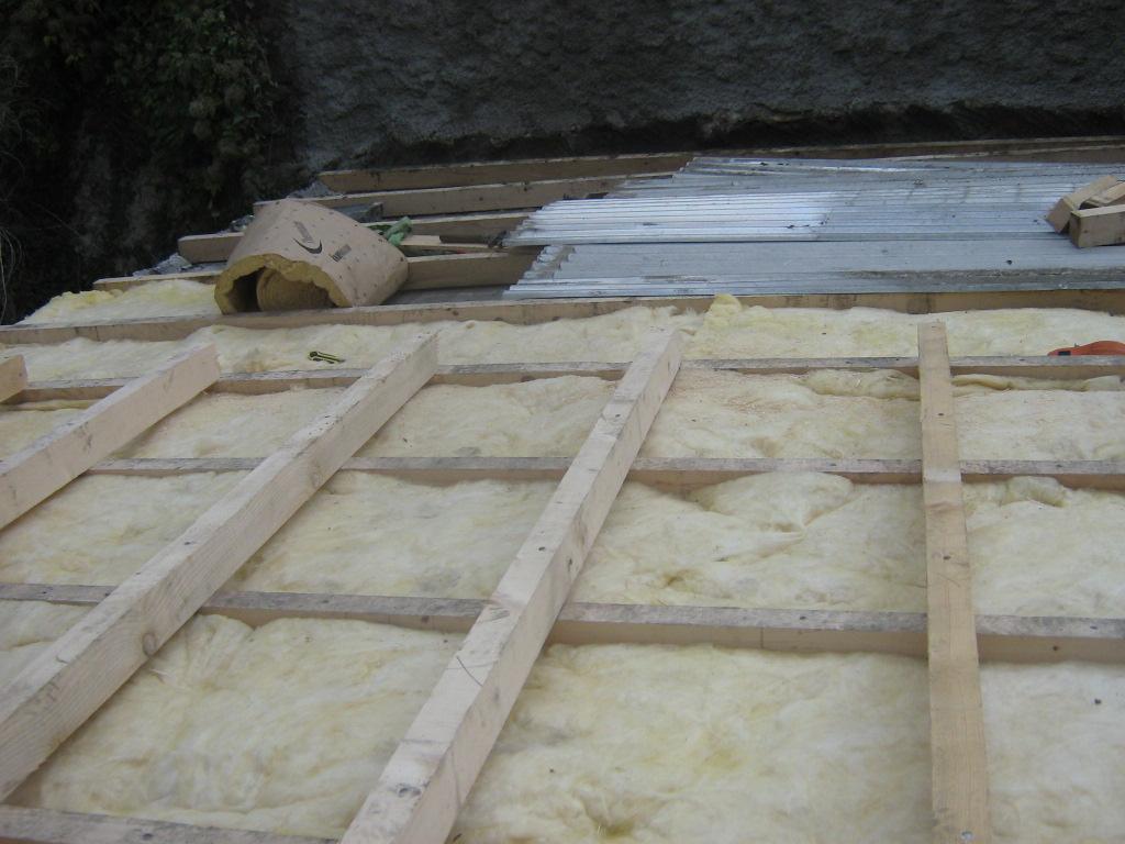 X10585 Isolation toit sous jardin