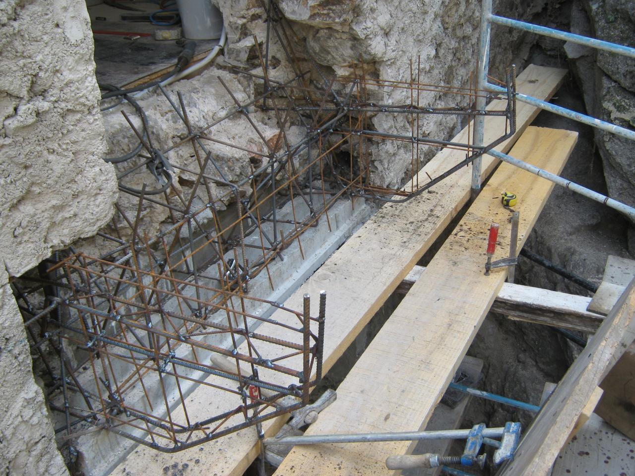 X13422 Ferrailage balcon