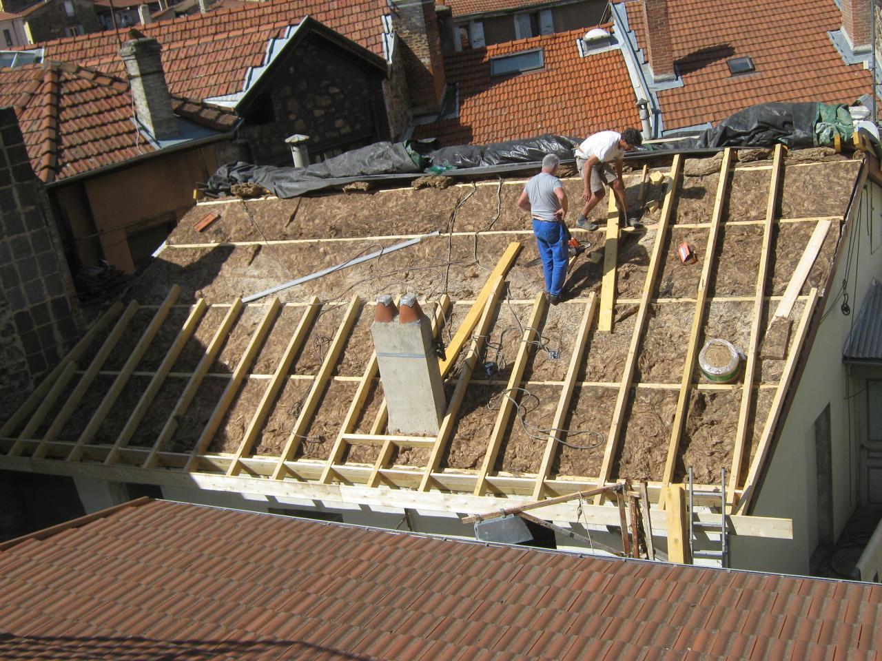 X15525 Isolation toit principal